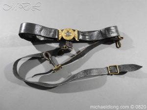 British Officer's Victorian Indian Dress Belt