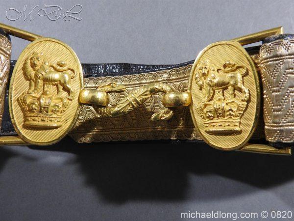 michaeldlong.com 10377 600x450 Royal Artillery Victorian Officer's Dress Belt