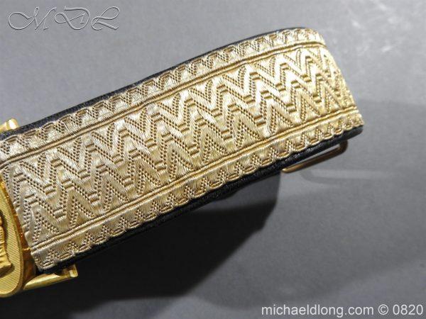 michaeldlong.com 10378 600x450 Royal Artillery Victorian Officer's Dress Belt
