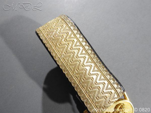michaeldlong.com 10379 600x450 Royal Artillery Victorian Officer's Dress Belt