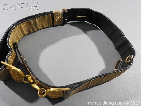 michaeldlong.com 10380 600x450 Royal Artillery Victorian Officer's Dress Belt