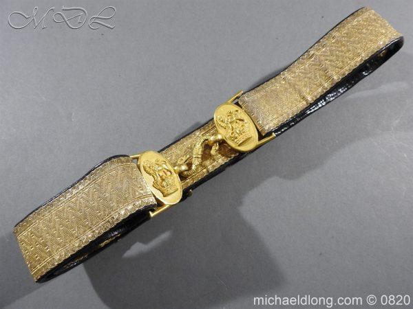 michaeldlong.com 10383 600x450 Royal Artillery Victorian Officer's Dress Belt