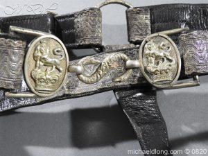 michaeldlong.com 10385 300x225 Royal Artillery Volunteers Victorian Officer's Dress Belt