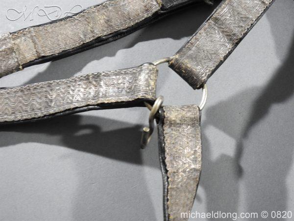 michaeldlong.com 10386 600x450 Royal Artillery Volunteers Victorian Officer's Dress Belt