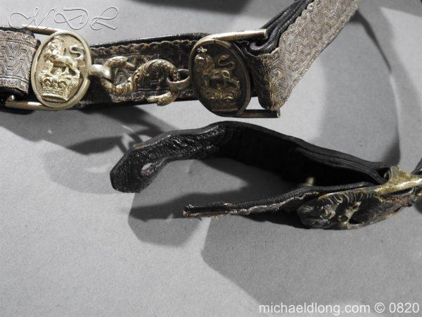 michaeldlong.com 10390 600x450 Royal Artillery Volunteers Victorian Officer's Dress Belt