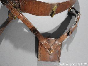 michaeldlong.com 10393 300x225 British Officer's Sam Brown Belt and Sword Frog