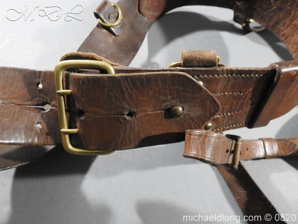 michaeldlong.com 10394 600x450 British Officer's Sam Brown Belt and Sword Frog