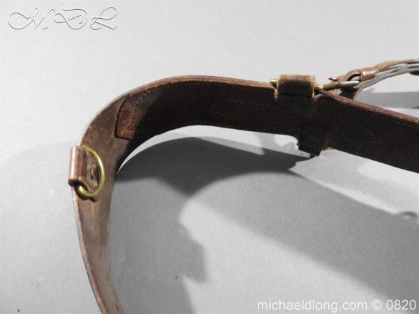 michaeldlong.com 10395 600x450 British Officer's Sam Brown Belt and Sword Frog