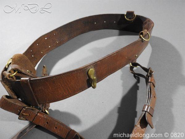 michaeldlong.com 10396 600x450 British Officer's Sam Brown Belt and Sword Frog