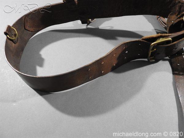 michaeldlong.com 10397 600x450 British Officer's Sam Brown Belt and Sword Frog