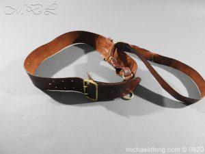British Officer's Sam Brown Belt