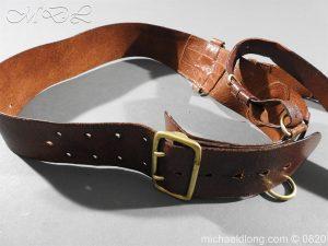 michaeldlong.com 10399 300x225 British Officer's Sam Brown Belt and Strap