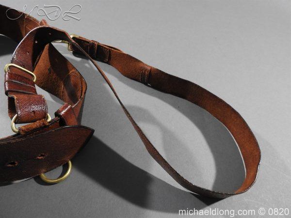 michaeldlong.com 10400 600x450 British Officer's Sam Brown Belt and Strap