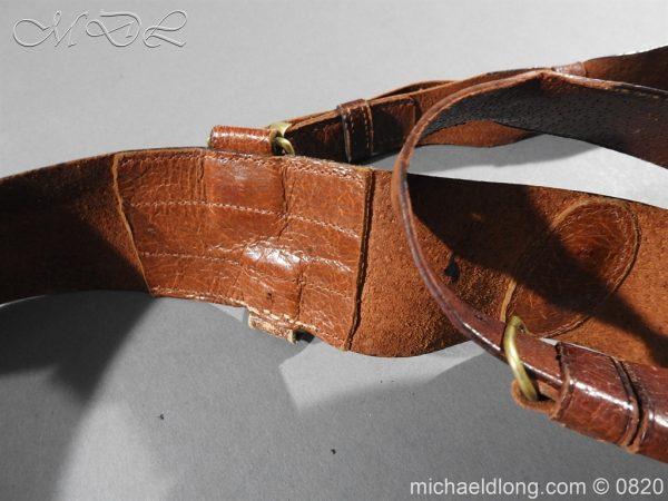michaeldlong.com 10401 600x450 British Officer's Sam Brown Belt and Strap