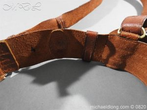 michaeldlong.com 10402 300x225 British Officer's Sam Brown Belt and Strap