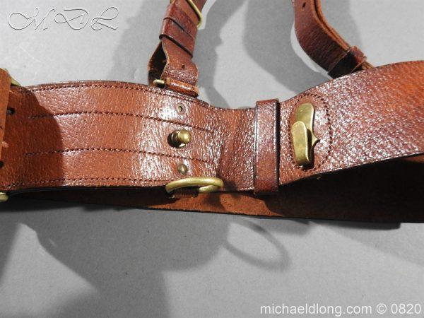 michaeldlong.com 10404 600x450 British Officer's Sam Brown Belt and Strap