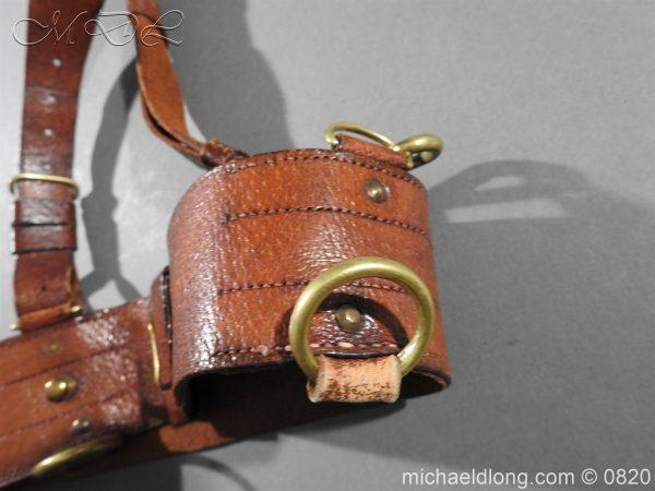 michaeldlong.com 10405 600x450 British Officer's Sam Brown Belt and Strap