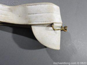michaeldlong.com 10408 300x225 British White Buff Leather Military Victorian Belt