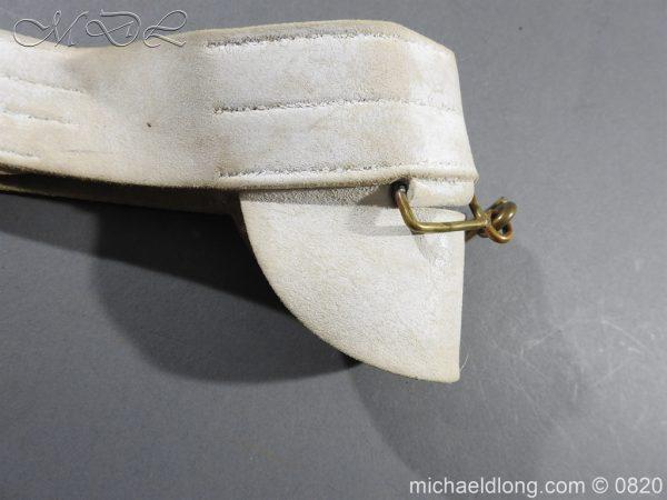 michaeldlong.com 10408 600x450 British White Buff Leather Military Victorian Belt