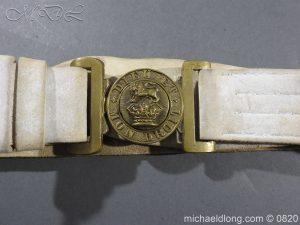 michaeldlong.com 10409 300x225 British White Buff Leather Military Victorian Belt