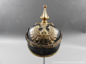 Imperial German Customs Officers Pickelhaube