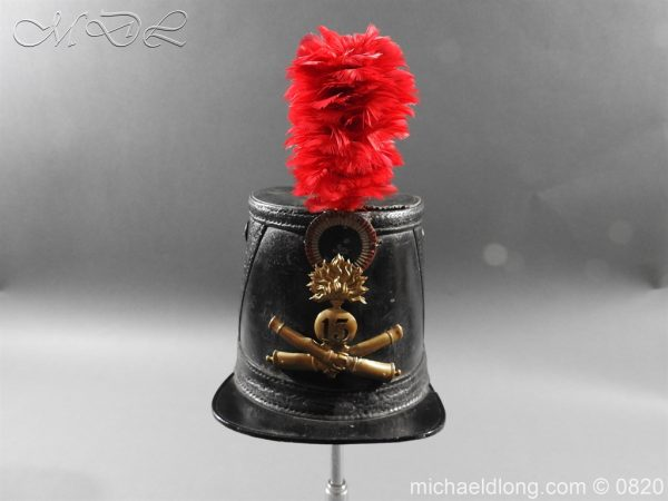 michaeldlong.com 10603 600x450 French 13th Regiment Artillery Shako c 1850