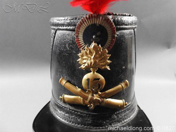 michaeldlong.com 10612 600x450 French 13th Regiment Artillery Shako c 1850