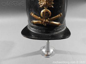 michaeldlong.com 10613 300x225 French 13th Regiment Artillery Shako c 1850