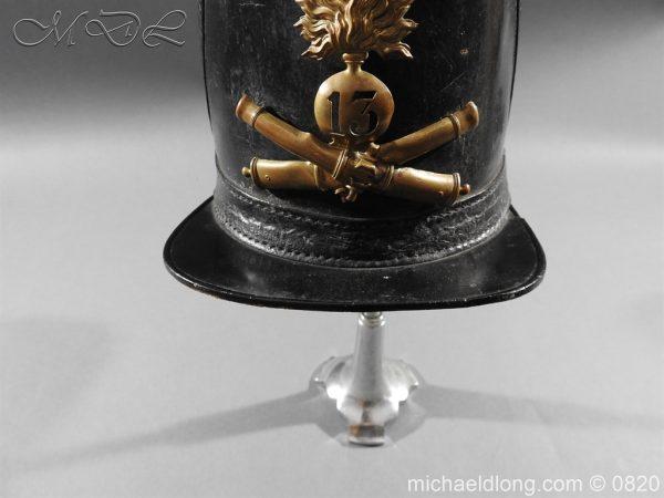 michaeldlong.com 10613 600x450 French 13th Regiment Artillery Shako c 1850