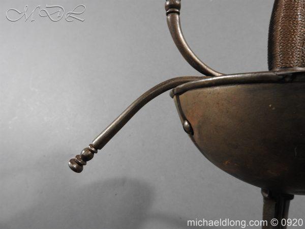 michaeldlong.com 10768 600x450 Spanish Cup Hilt Rapier