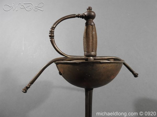 michaeldlong.com 10777 600x450 Spanish Cup Hilt Rapier