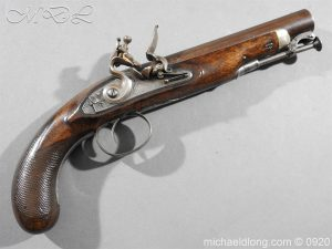 Flintlock Pistol by Stevens London
