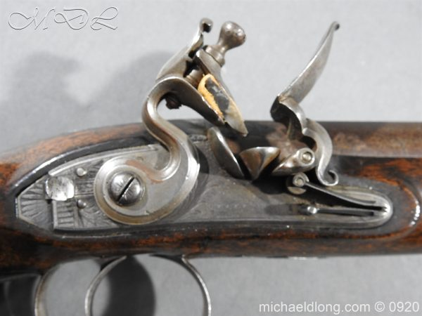 michaeldlong.com 10800 600x450 Flintlock Pistol by Stevens London