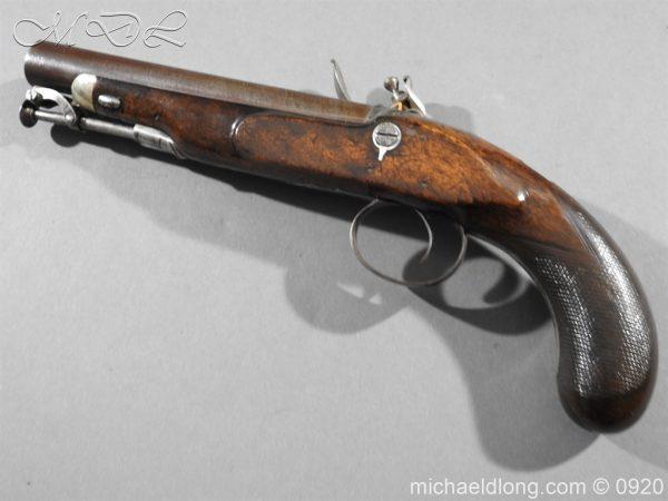 michaeldlong.com 10806 600x450 Flintlock Pistol by Stevens London