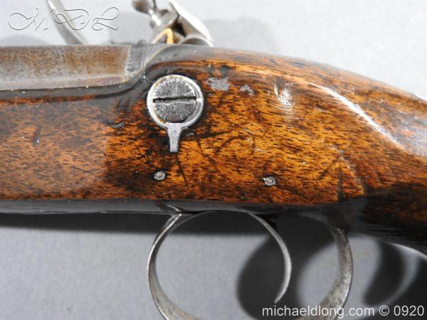 michaeldlong.com 10808 600x450 Flintlock Pistol by Stevens London