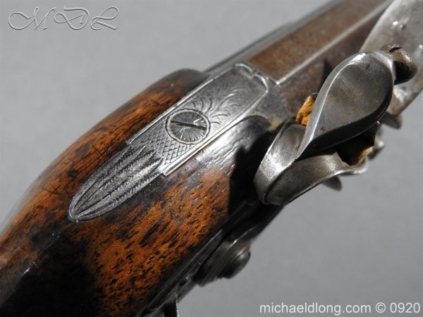 michaeldlong.com 10813 600x450 Flintlock Pistol by Stevens London
