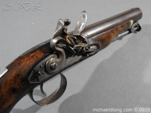 michaeldlong.com 10815 600x450 Flintlock Pistol by Stevens London