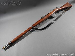 michaeldlong.com 10830 300x225 Schmidt Rubin Model 1889 7.5 x 53.5mm M1892 Bayonet All Matching