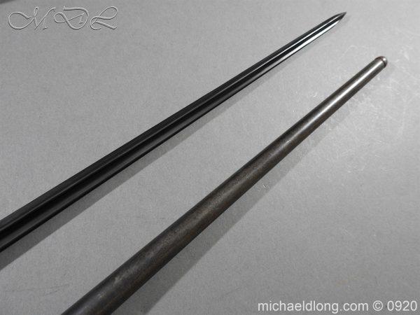 michaeldlong.com 10841 600x450 Schmidt Rubin Model 1889 7.5 x 53.5mm M1892 Bayonet All Matching