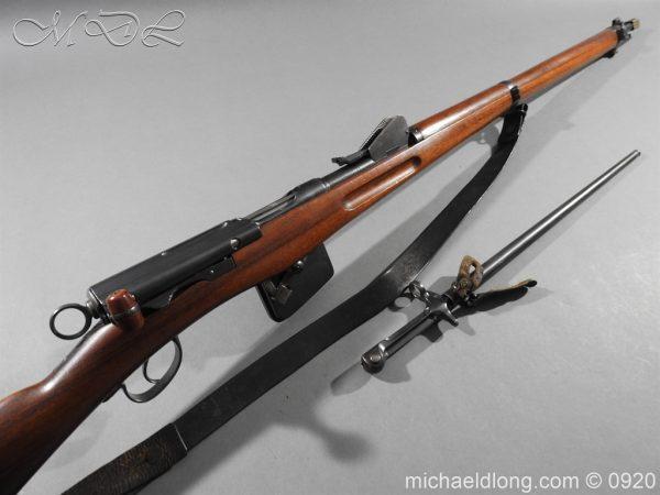 michaeldlong.com 10846 600x450 Schmidt Rubin Model 1889 7.5 x 53.5mm M1892 Bayonet All Matching