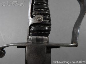 michaeldlong.com 10961 300x225 1796 Light Cavalry Sword Officer's Sword