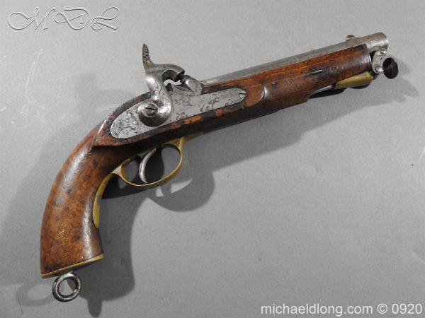 michaeldlong.com 11011 600x450 E.I.G. Percussion Cavalry Pistol 1867