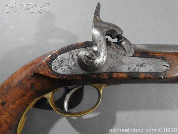michaeldlong.com 11013 600x450 E.I.G. Percussion Cavalry Pistol 1867