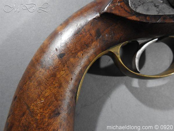 michaeldlong.com 11014 600x450 E.I.G. Percussion Cavalry Pistol 1867