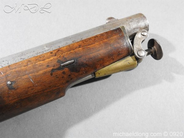 michaeldlong.com 11017 600x450 E.I.G. Percussion Cavalry Pistol 1867