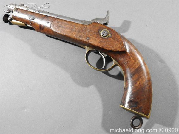 michaeldlong.com 11018 600x450 E.I.G. Percussion Cavalry Pistol 1867