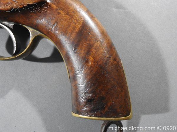 michaeldlong.com 11019 600x450 E.I.G. Percussion Cavalry Pistol 1867