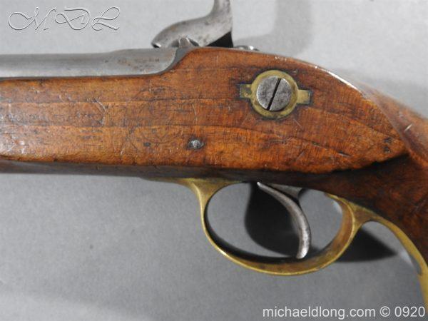 michaeldlong.com 11020 600x450 E.I.G. Percussion Cavalry Pistol 1867