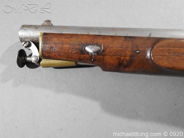 michaeldlong.com 11021 600x450 E.I.G. Percussion Cavalry Pistol 1867
