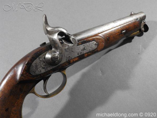 michaeldlong.com 11028 600x450 E.I.G. Percussion Cavalry Pistol 1867